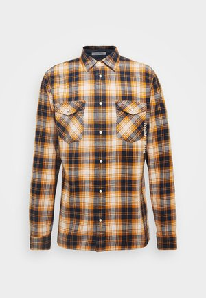 WESTERN CHECK - Shirt - spiced toddy/multi