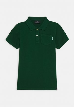 GARMENT DYED - Polo shirt - jungle green