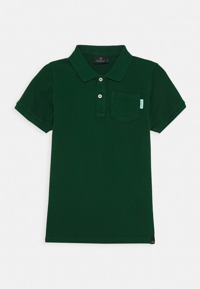GARMENT DYED - Poloskjorter - jungle green