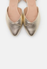 Anna Field - LEATHER  - Ballerinat - light gold - 5