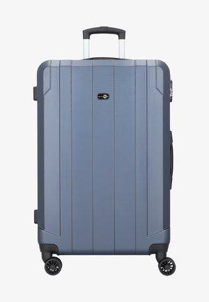 DOPPELROLLEN - Wheeled suitcase - blue