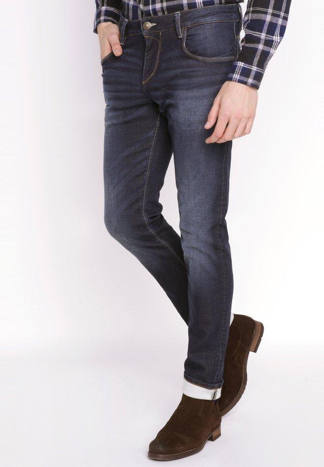 SADAO - Jeans slim fit - denim brut