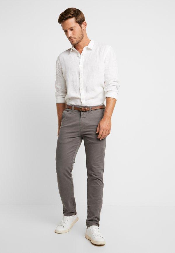 Pier One Koszula - white/biały Odzież Męska XZBE