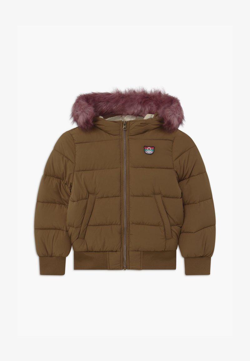 Benetton - FOREST FRIENDS - Zimní bunda - brown