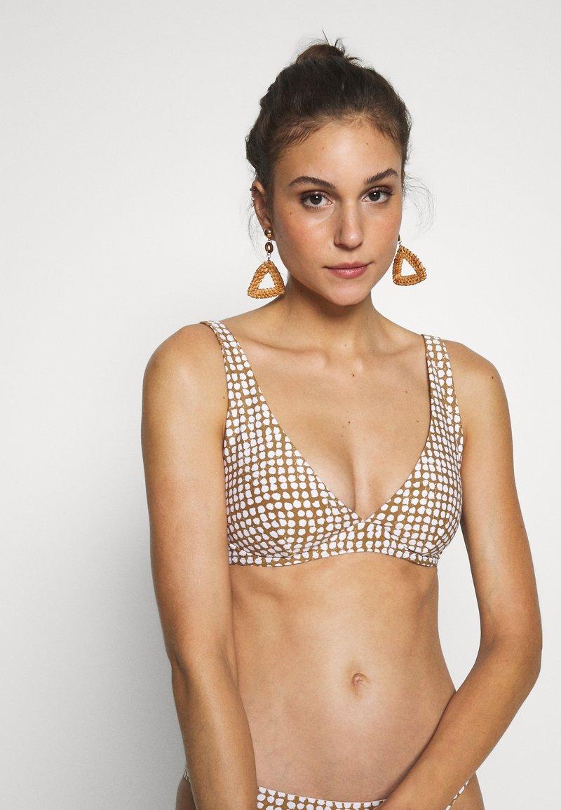 Rip Curl - PARADISE COVE PLUNGE - Bikini top - gold