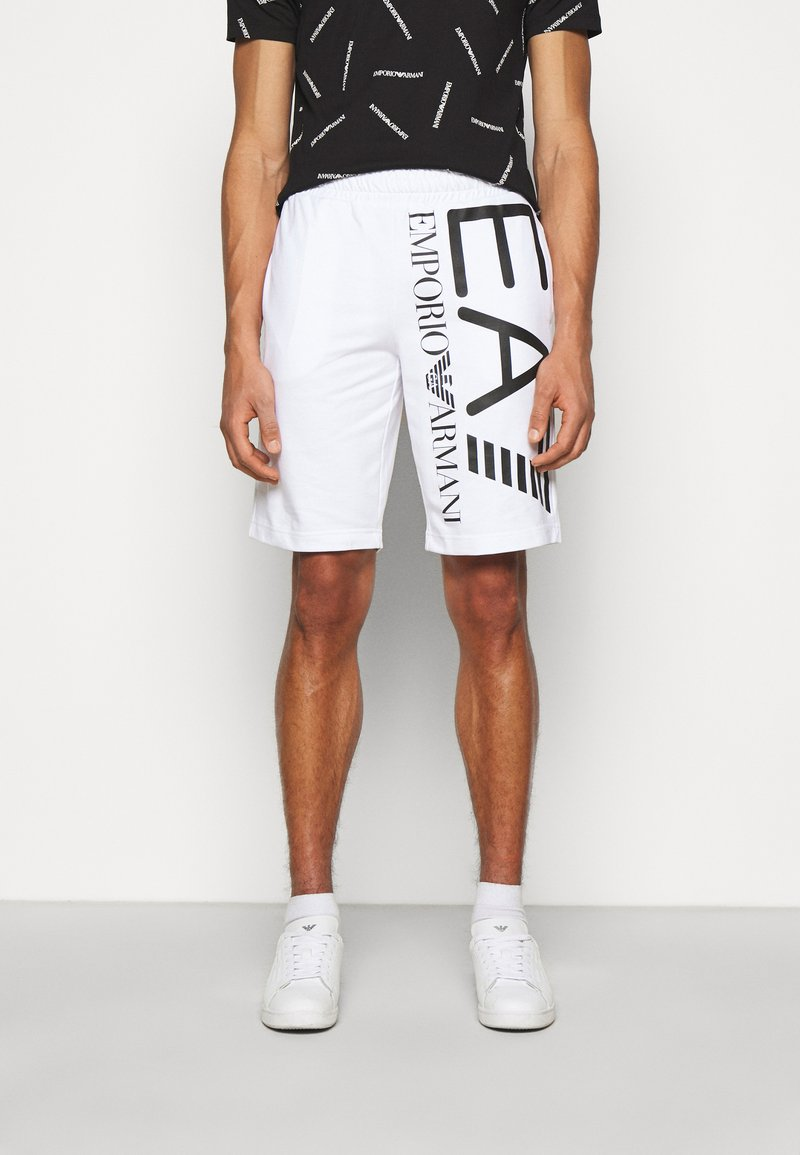 EA7 Emporio Armani - Shorts - white/black