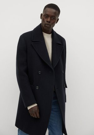 GENOVA - Classic coat - dunkles marineblau