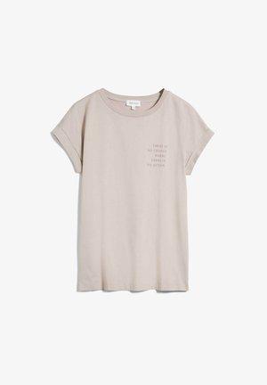 Print T-shirt - light desert