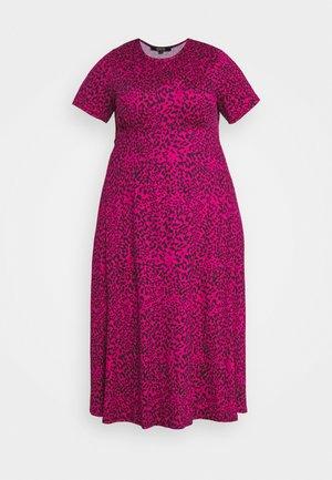 MIDI DRESS - Day dress - pink
