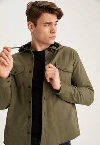 DeFacto - Denim jacket - khaki - 5
