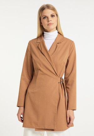 Short coat - kamel