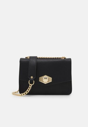 PCANNA CROSS BODY - Taška s příčným popruhem - black/gold-coloured