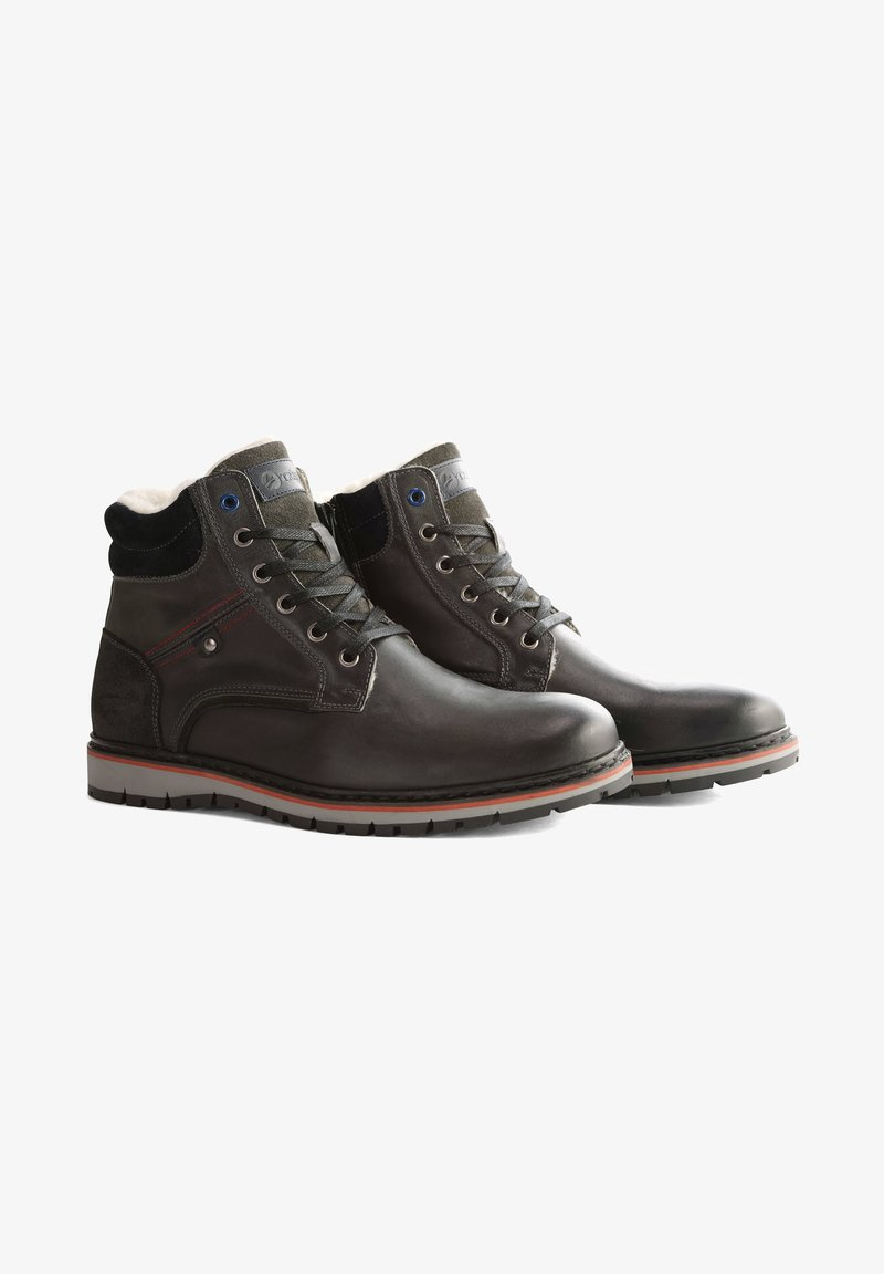 Travelin - STORDAL - Veterboots - dark grey