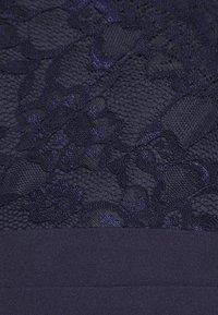 Nly by Nelly - WRAP LACE MERMAID GOWN - Společenské šaty - navy - 6