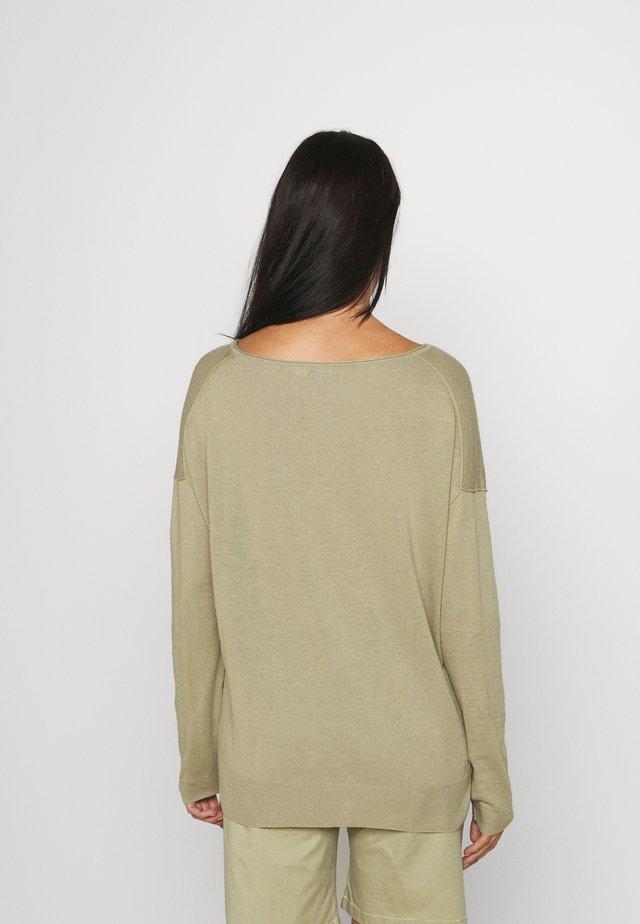 WOMEN - Jersey de punto - green bark