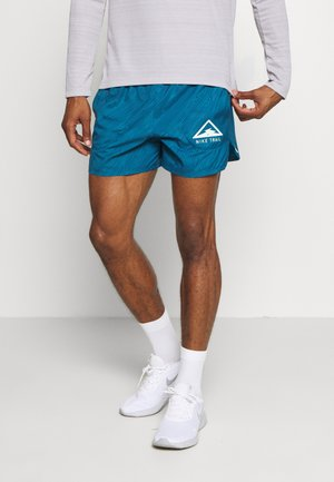 STRIDE TRAIL - Short de sport - valerian blue/particle grey/barely volt