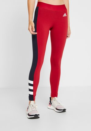 SID - Leggings - active maroon/legend ink