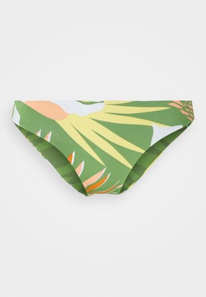 WILDFLOWERS REGULAR BOTTOM - Bikini bottoms - turf green undertone