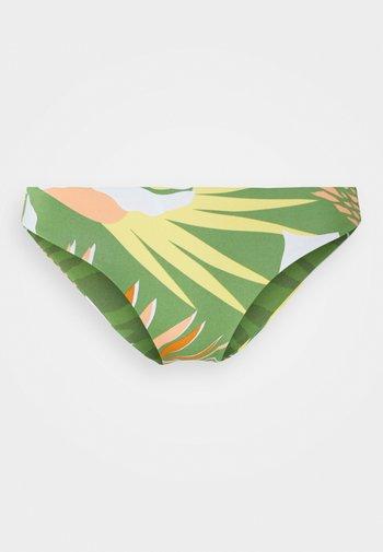WILDFLOWERS REGULAR BOTTOM - Bikini bottoms - turf green undertone