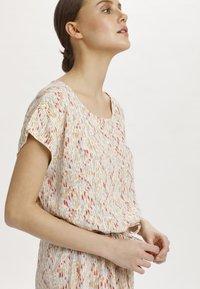 Soaked in Luxury - SL LAVADA - Sukienka letnia - whisper white splash print - 3