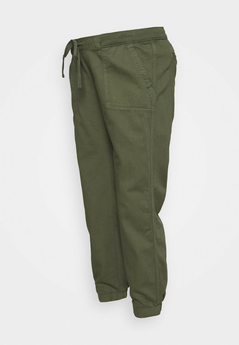 GAP Maternity - UTILITY - Tracksuit bottoms - greenway