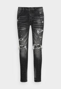 Alessandro Zavetti - DAMIANO - Jeans slim fit - black wash - 3