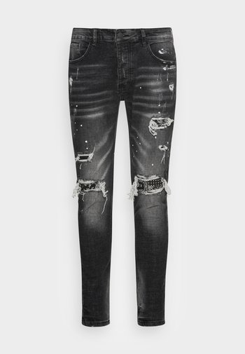DAMIANO - Slim fit jeans - black wash