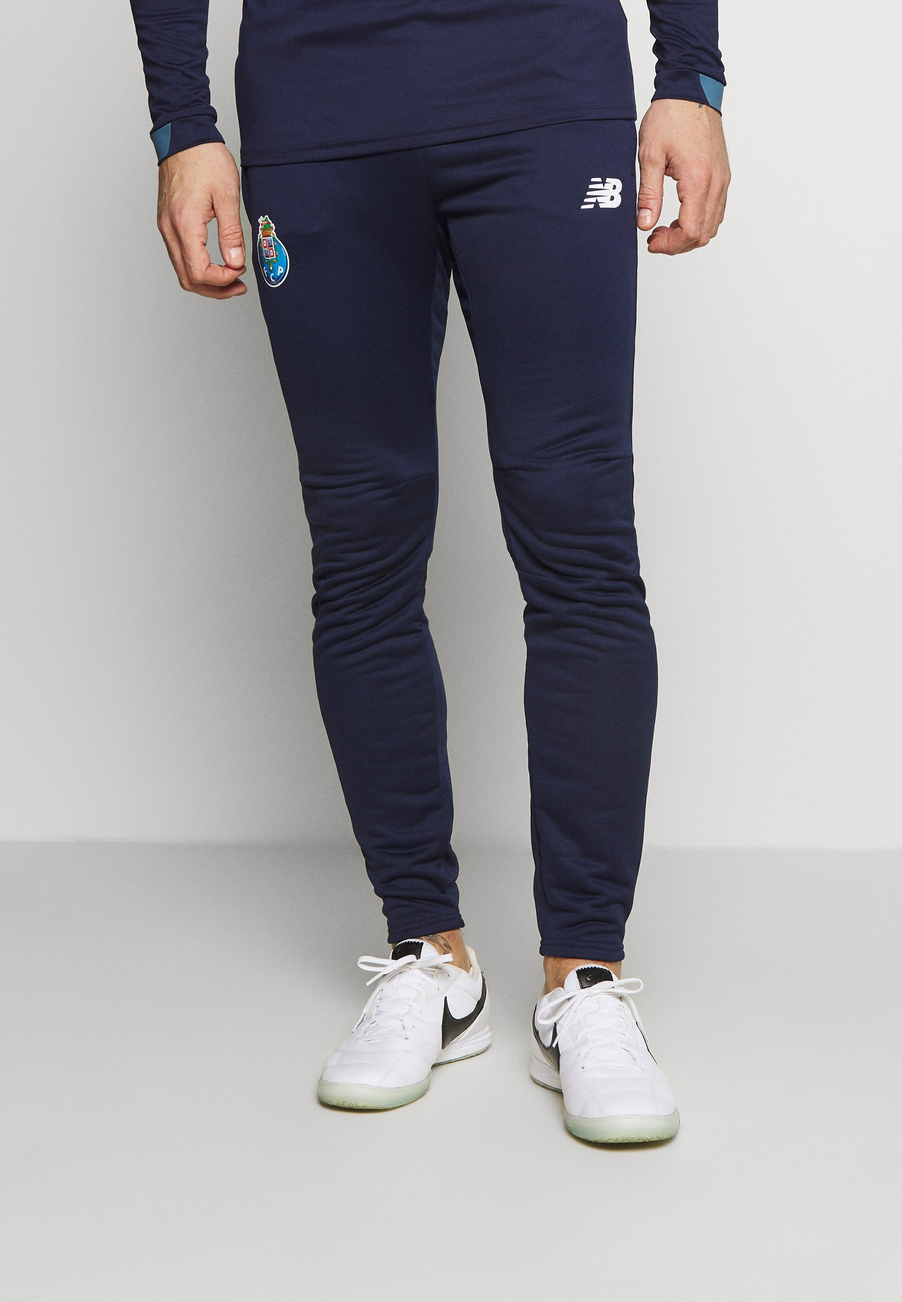 New Balance Pantalones Deportivos Navy Azul Marino Zalando Es