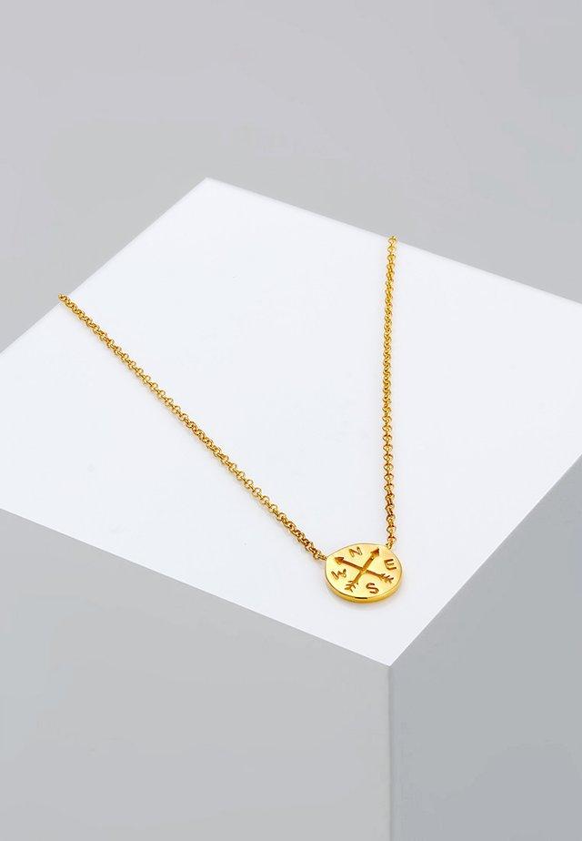 KOMPASS - Ketting - gold-coloured