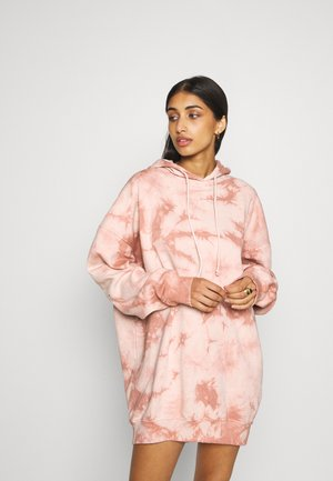 PLAYBOY OVERSIZED HOODY DRESS - Day dress - stone