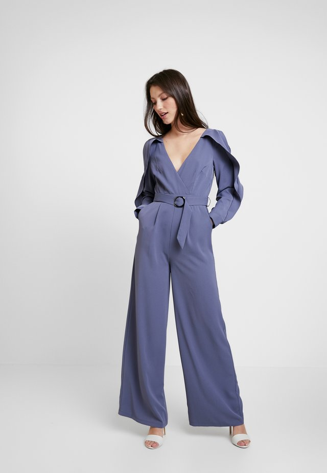 ANAÏS LAVENDER COLD SHOULDER - Jumpsuit - lavender grey