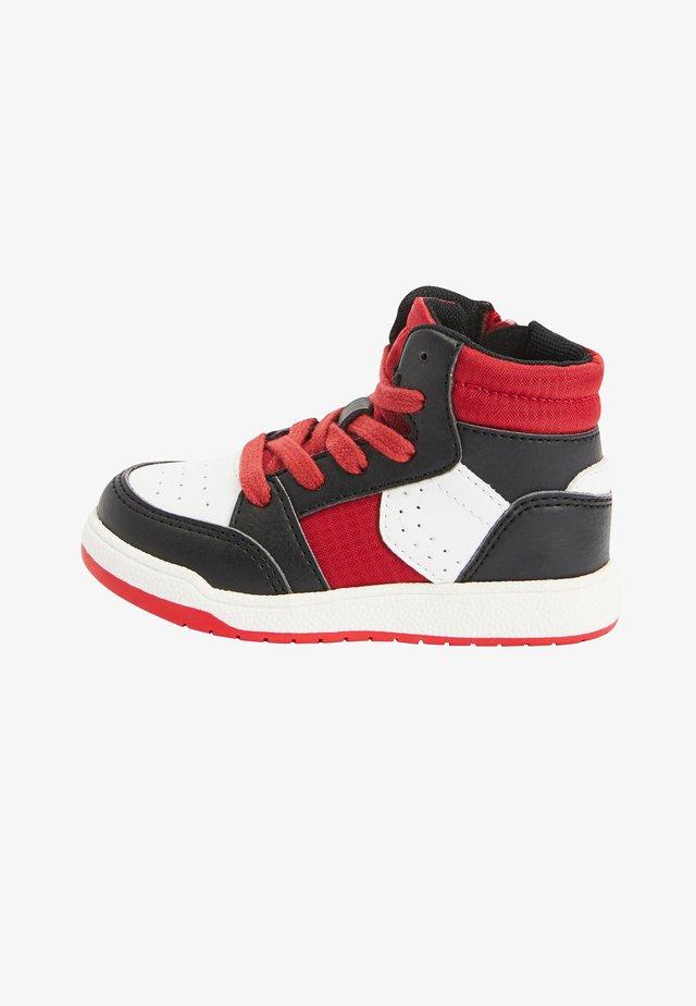 Sneakers hoog - mottled black