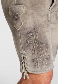 Spieth & Wensky - PETERSBERG - Leather trousers - braun - 2