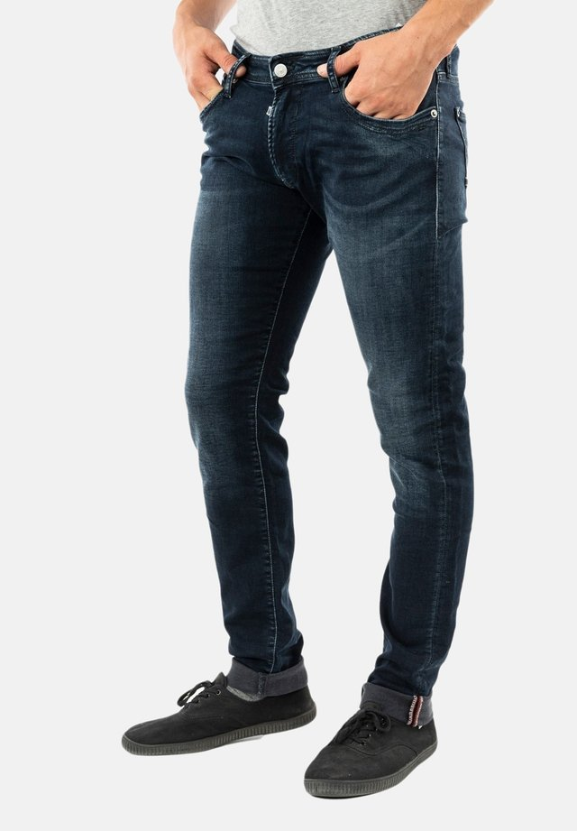 Slim fit jeans - bleu