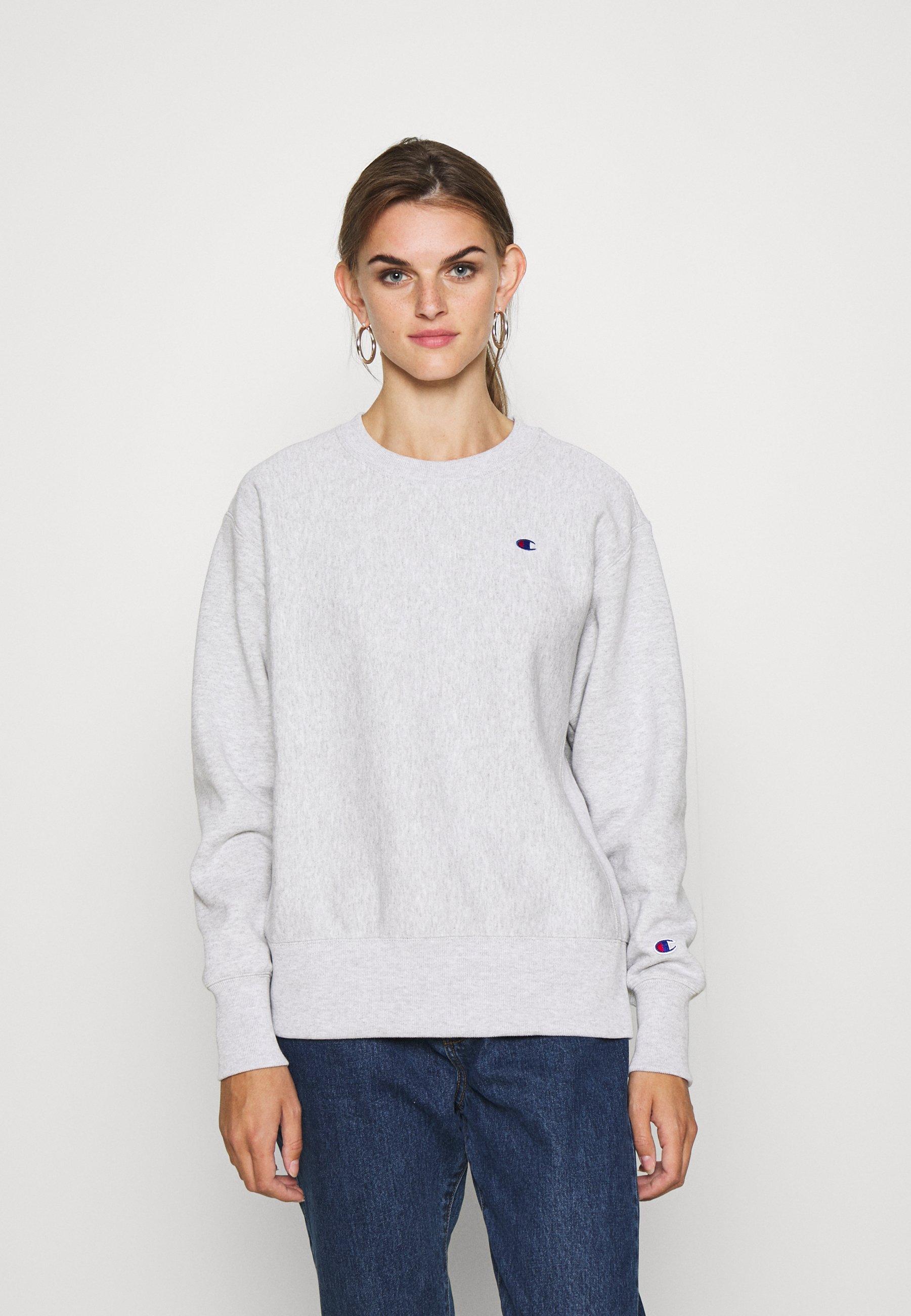 Champion Reverse Weave CREWNECK Sweater white Zalando.nl