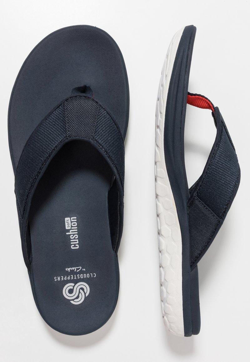 extraño puramente En marcha  Clarks STEP BEAT DUNE - T-bar sandals - navy - Zalando.co.uk