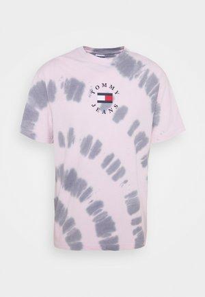TEE UNISEX - Printtipaita - pink