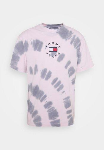 TEE UNISEX - Triko spotiskem - pink
