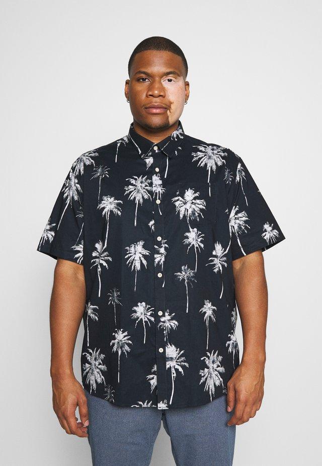 PALM PRINT - Skjorter - dunkelblau