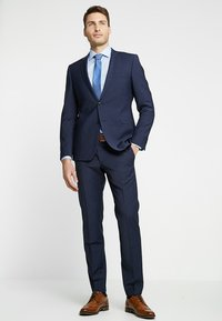 Tommy Hilfiger Tailored - POPLIN CLASSIC SLIM FIT - Kauluspaita - blue - 1