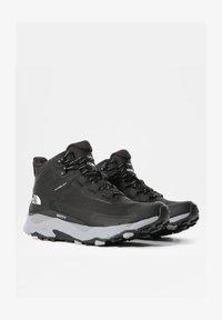 The North Face - W VECTIV EXPLORIS MID FUTURELIGHT - Chaussures de marche - tnf black/meld grey - 1