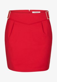 Morgan - WITH BUCKLES - Pencil skirt - red - 4