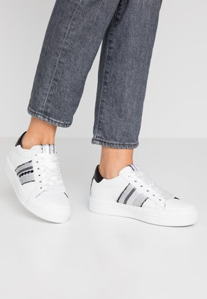 UP - Trainers - bianco/silver