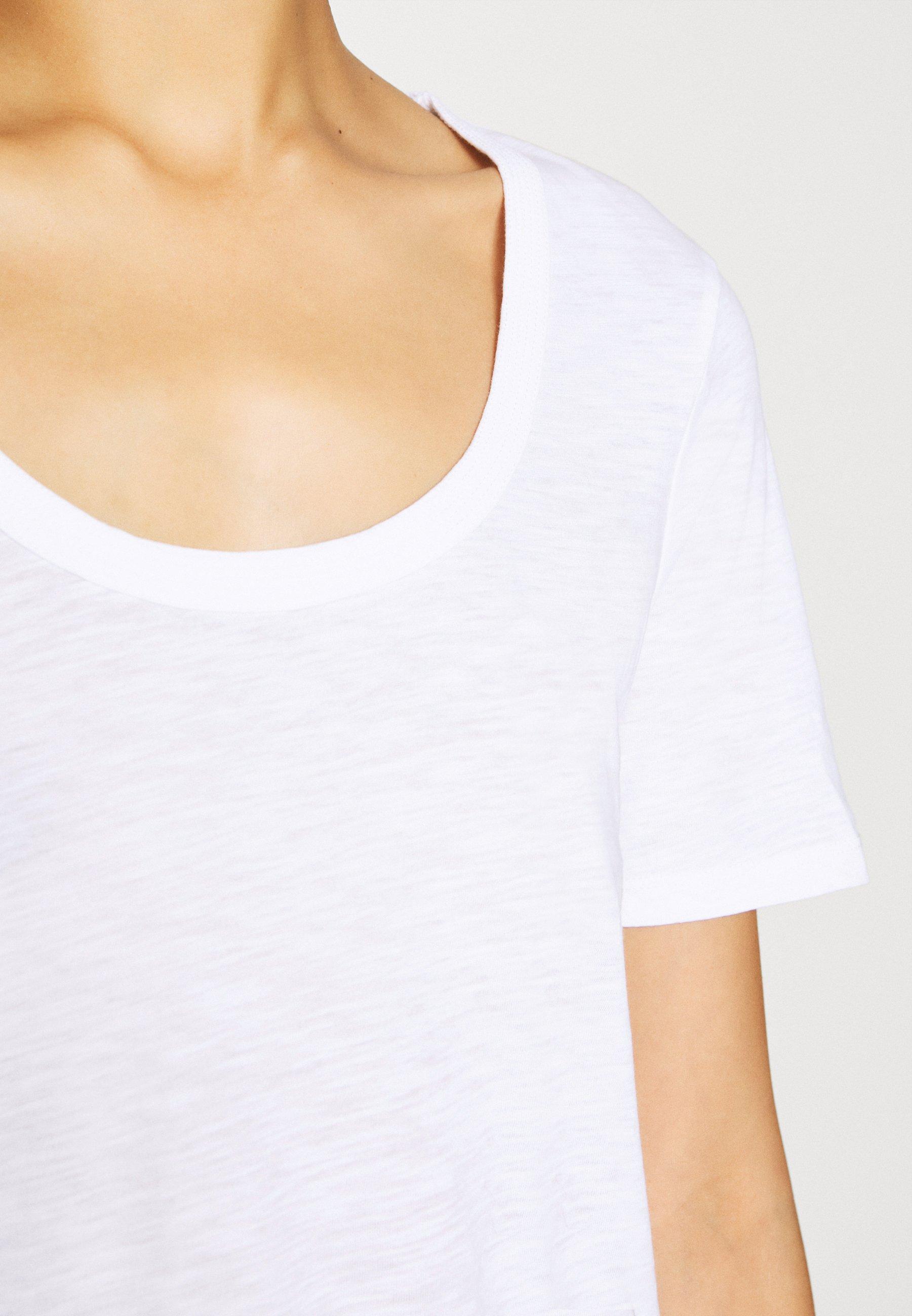 Marc O'polo Short Sleeve - T-shirts White/hvit