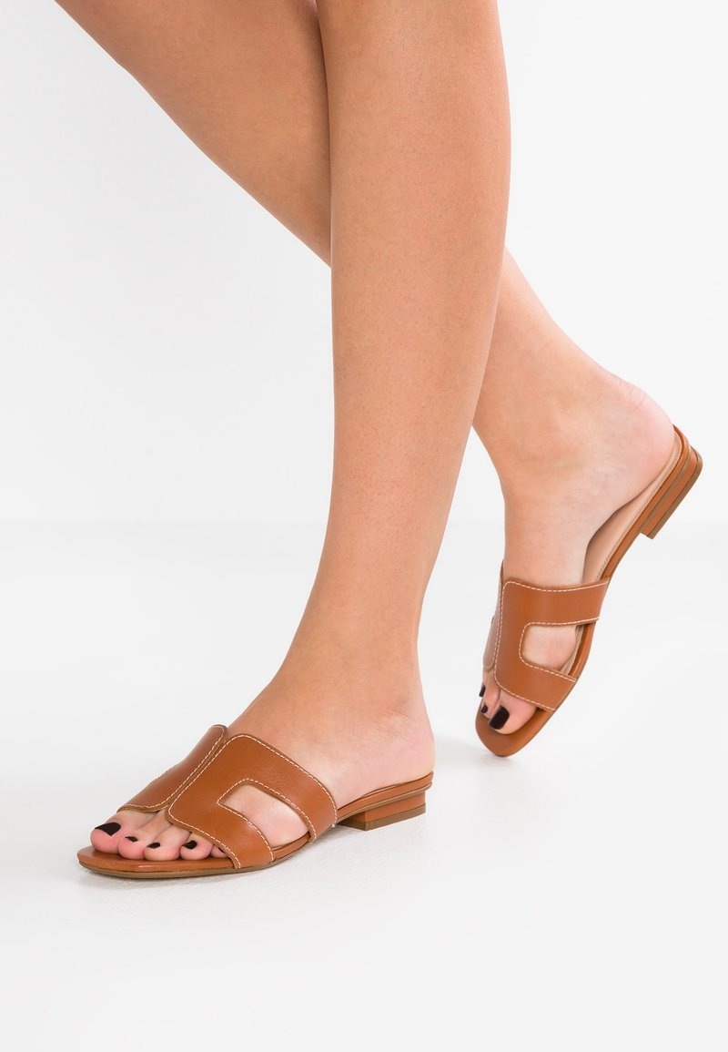 Dune London - LOUPE - Mules - tan