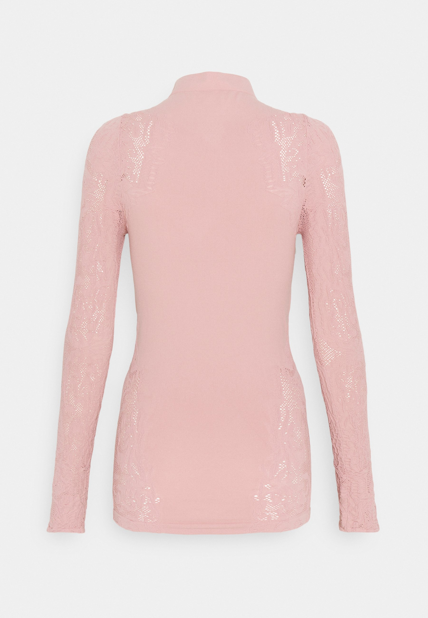 Free People No Turning Back - Topper Langermet Dusty Rose/lyserosa