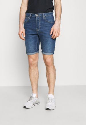 FIVE POCKET - Jeansshorts - hawaii dark