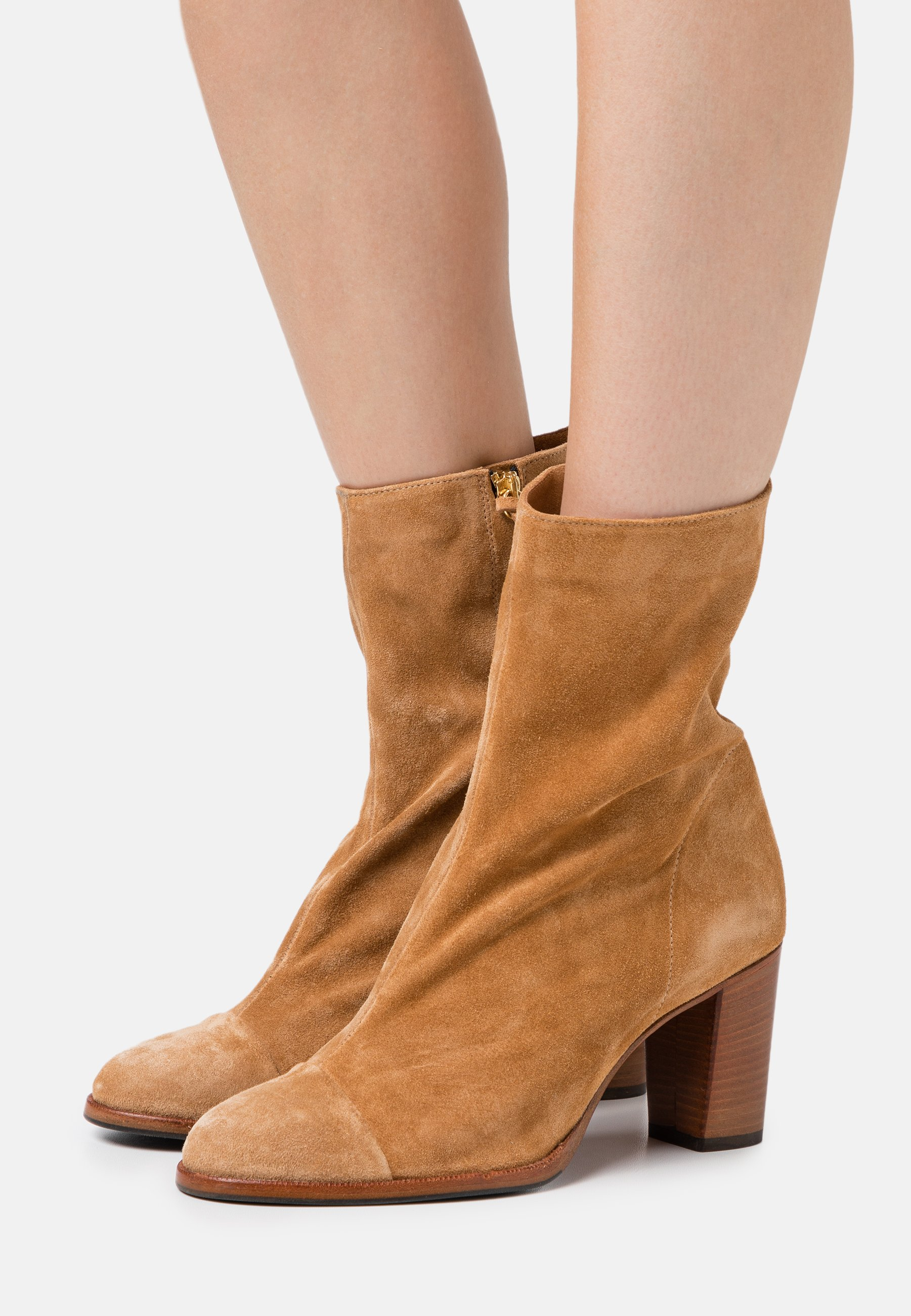 Women ROSEMARY - Classic ankle boots - light brown