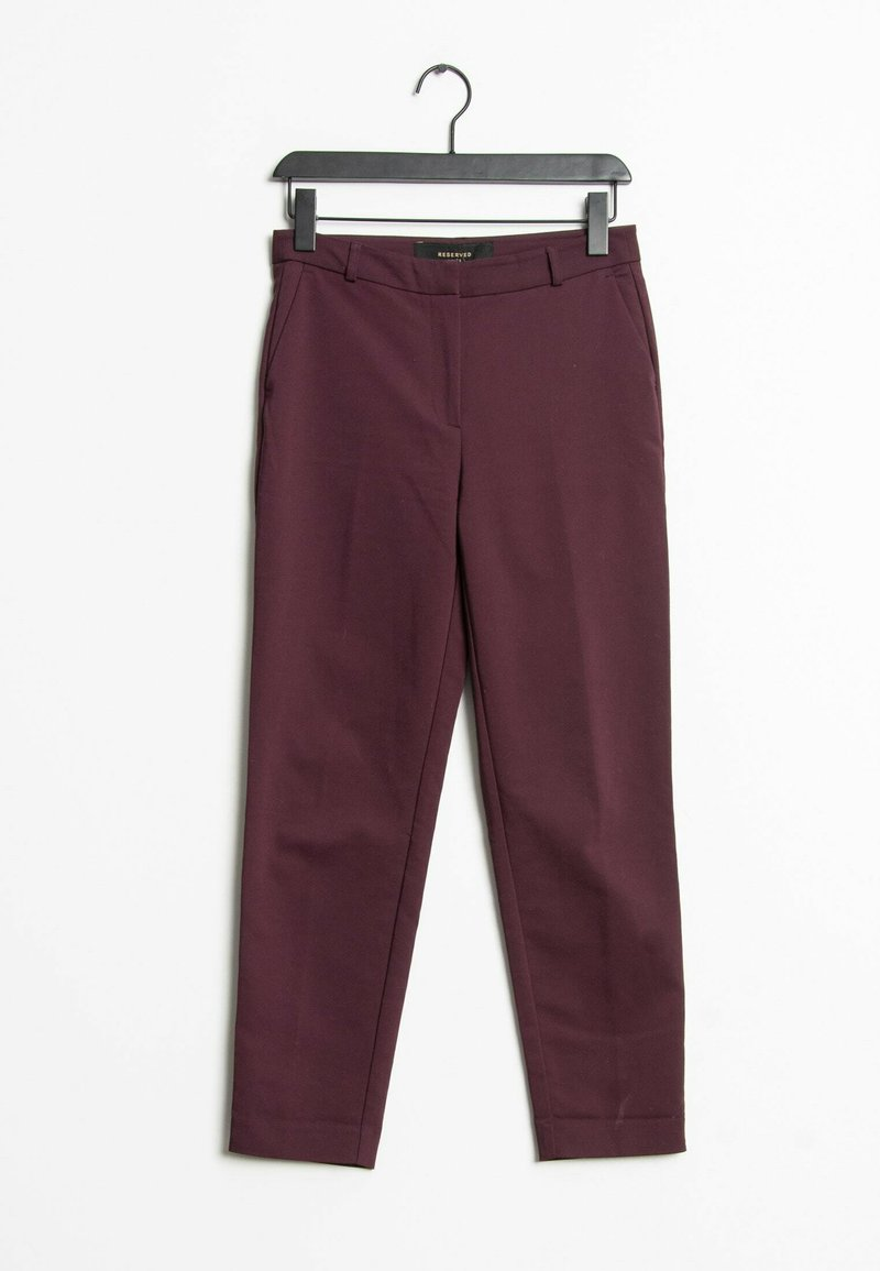 Reserved - Trousers - red