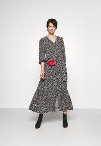 Rebecca Minkoff - CHELSEA DRESS - Maxi dress - ecru/multicolor - 1